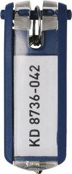 Schlüsselanhänger Key Clip dbl aus Kunststoff mit sichtbarem1 Beutel = 6 Stück