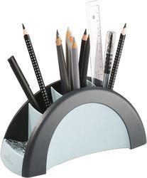 Stifte Butler PEN HOLDER schwarz/ graublau, 5 Fächer, 205x90x80mm