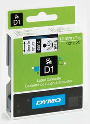 Schriftband 12mm/7m, DYMO 45010, schwarz auf transparent