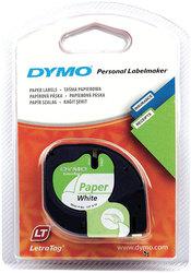 Schriftbandkassette LetraTag weißes Papierband