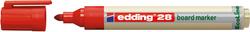 Boardmarker 28 Rund 1,5-3mm rot nachfüllbar mit edding BTK25