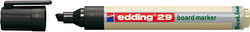EcoLine Boardmarker, Keilspitze schwarz, 1-5mm # 4-29001