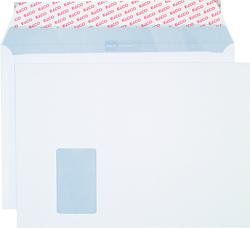 Briefumschlag hochweiss mit grauem Innendruck, C4, 120 g, Haftklebung,VE = Pack = 250 Stück