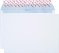 Briefumschlag hochweiss mit grauem Innendruck, B4, 120 g, Haftklebung.VE = Pack = 250 Stück
