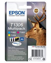 Multipack DURABrite 3 Farben für SX525WD, SX620FW, BX320FW,1 Multipack = 3 Tinten