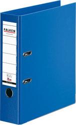 Ordner PP A4 80mm blau Chromocolor mit Einsteckschild