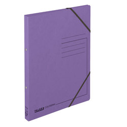 Ringhefter, A4, 2-Ring-Mechanik, Füllhöhe: 14mm, violett, 355g/qm