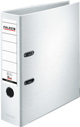 Ordner PP-Color A4 80mm weiß mit Eisteckschild
