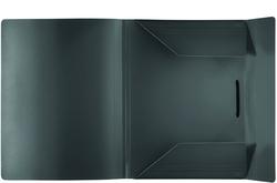 PP-Eckspanner-Sammelbox anthrazit 320 x 230 x 16 mm (HxBxT)