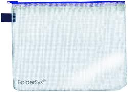 PVC-Sammelbeutel/Kleinkrambeutel A4 transparent mit Reißverschluss
