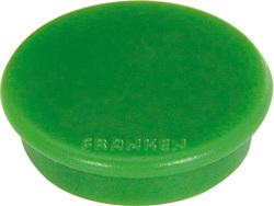 Haftmagnet 13mm, grün, Haftkraft 100g, hochwertiger Haftmagnet mitVE = 1 Packung = 10 Stück