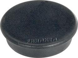 Haftmagnet 24mm schwarz 10 Stück Haftkraft 300gVE = 1 Packung = 10 Stück