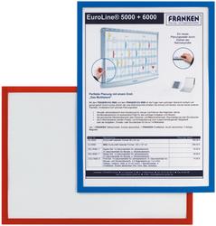 Magnethaftender Dokumentenhalter A4, blau