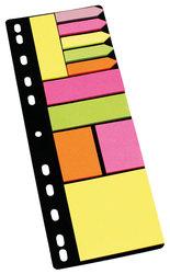 Info Sticky Notes Folder Set Haftnotizen, Haftmarker und PfeileVE = 1 Set = 11 x 25 Stück