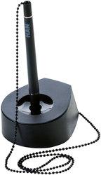 Stifteständer SALSA, mit Kette, schwarz
