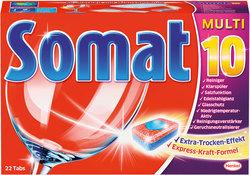 Somat 10 Tabs 25 Stück Maschinen -Tabs für Spülmaschinen