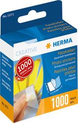 Fotokleber permanent 1000 Stück Kartonspender mit Abziehlasche