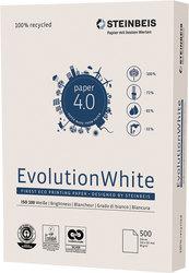 Steinbeis EvolutionWhite Kopierpapier A3 80g 100er weiße RecyclingVE = 1 Packung = 500 Blatt
