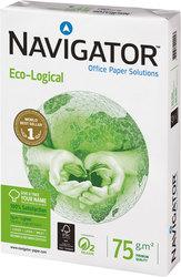 Navigator Eco-Logical Kopierpapier A4 75g weiß sehr hohe WeißeVE = 1 Packung = 500 Blatt