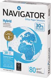 Navigator Hybrid Kopierpapier A4 80g weiß hoher WeißeVE = 1 Packung = 500 Blatt