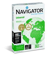 Navigator Universal Kopierpapier A3 80g weiß sehr hohe WeißeVE = 1 Packung = 500 Blatt