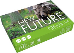 New Future Premium Kopierpapier A4 80g hochweiß 170 CIEVE = 1 Packung = 500 Blatt