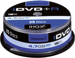 Rohling DVD+R 4,7GB, 16x, Spindel 25er