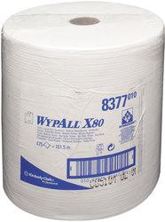 Wischtücher WYPALL X80, Rolle, weiß f. Spender 6146, 6154, 6155VE = 1 Rolle = 475 Tücher
