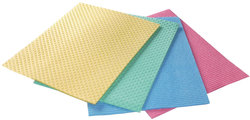 Schwammtuch 18 x 20 cm Aqua, farbig sortiertVE = 5 Stück