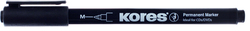 Kores Faserschreiber CD/DVD Marker schwarz, permanent