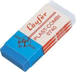 Radierer Plast-Combi 46x20x9mm