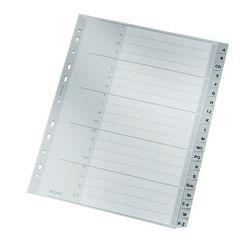 Register A-Z PP A4 20Blatt grau VE = 20 Stück