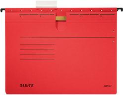 Hängehefter Alpha farbig A4 rot 250g/qm ColorspankartonVE = 25 Stück