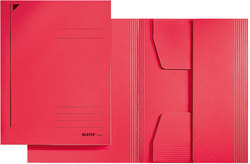 Jurismappe/Dreiklappenmappe A4 320 g/m2 rot