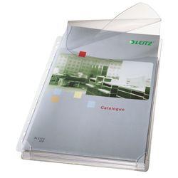 Maxi Prospekthülle A4 PVC 0,17mm genarbt, oben offen mit KlappeVE = 1 Packung = 5 Stück