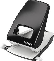 Registraturlocher schwarz, Stanzleistung 40 Blatt 4 mm,