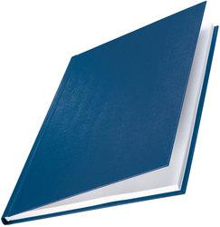 Buchbindemappe Hardcover A4 3,5mm Leinenüberzug matt blauPackung = 10 Stück