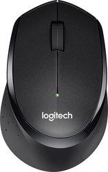 Maus M330 silent, schwarz, kabellos, über 90% reduzierte Klickgeräusche,
