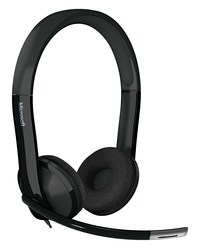 Headset, LifeChat LX-6000, Stereo- Ohrhörer, höhenverstellbares Mikrofon