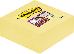 Post-it Super Sticky Würfel #2014-SCY a 270 Blatt, 76 x 76 mm, gelb