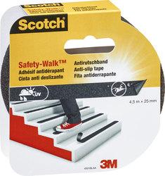 Antirutschband Safety-Walk, stark klebend, raue Oberfläche, für Innen-
