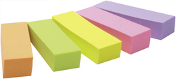 Page Marker Post-it 670/5 15x50mm 5 BlocksVE = 1 Packung = 5 Blocks