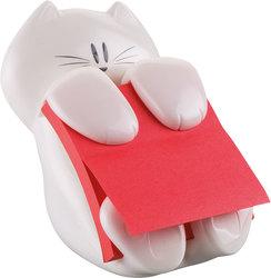 Post-it Z-Notes Spender Cat-330 inkl. 1 Block 76x76 mohnrotVE = 1 Pack = 1 Spender + 1 Block