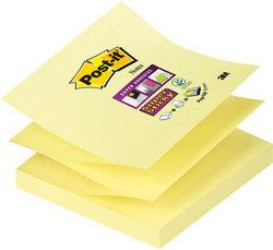 Post-it® Super Sticky Z-Notes R33012SY 1 Block á 90 Blatt,VE = 1 Packung = 12 Blocks