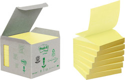 Haftnotiz Z-Notes Recycling Tower mit 6Block a 100 Bl.76x76mmVE = 1 Pack = 6 Blocks