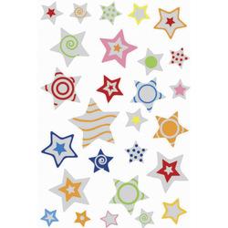 Schmucketikett Magic Sterne Puffy 1Bl 1Pack