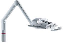 Telefonschwenkarm TalkMaster grau Universalzwinge 18x74 mm