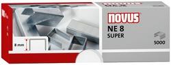 Heftklammern NE8 super verzinkt Stahldraht, f. Elektrohefter B100ELVE = 1 Packung = 5000 Stück