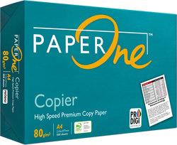 Kopierpapier Paper One A4 80g weiß, PEFC-zertifiziertVE = 1 Pack = 500 Blatt