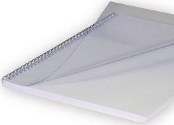 Deckblatt A4 transparent matt, Stärke: 0,20mmVE = 1 Packung = 100 Stück